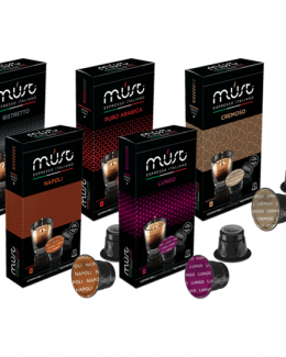 Must Espresso Selection Pack For Nespresso Machines