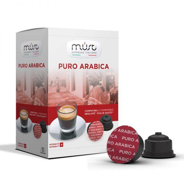 Must Espresso Pure Arabica Dolce Gusto Compatible Capsules