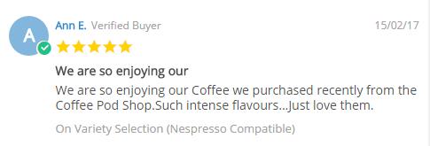 Ann Coffee Pod Review
