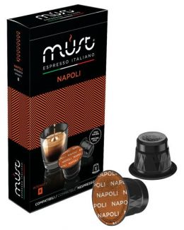Napoli Coffee Pods For Nespresso Machines