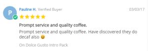 Pauline Coffee Pod Review